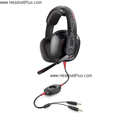 Plantronics GameCom 377 PC Open Ear Computer Headset *Discontinu