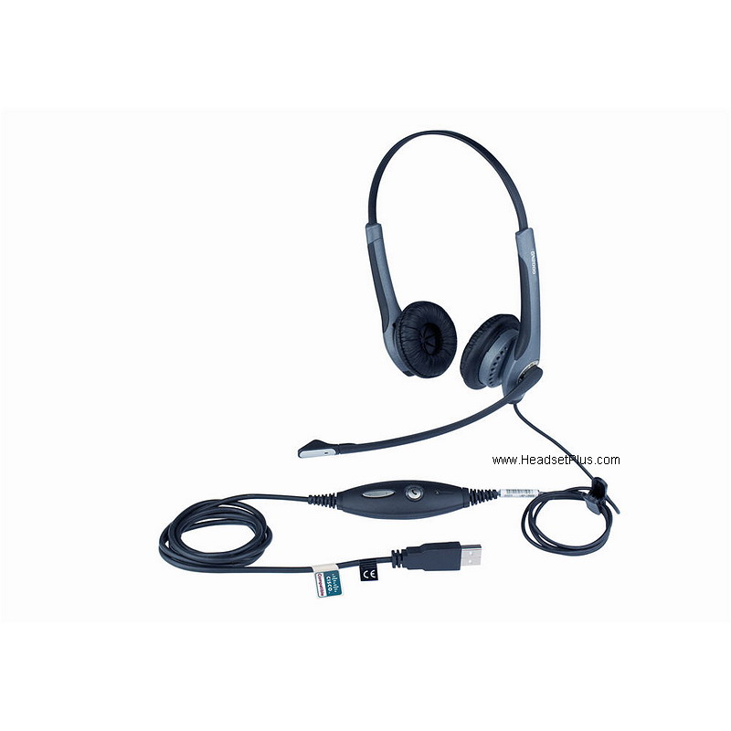 Jabra GN2000 CIPC Duo headset Cisco IP Communicator *Discontinue