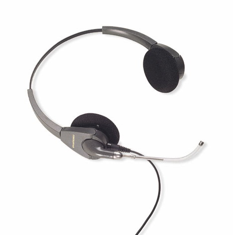 Plantronics H101 Encore Binaural Voice Tube Headset *Discontinue