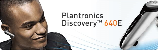 Plantronics 640E Discovery Bluetooth Headset *Discontinued*