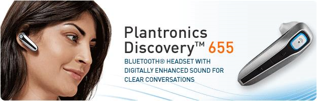 Plantronics 655 Discovery Bluetooth Headset *Discontinued*