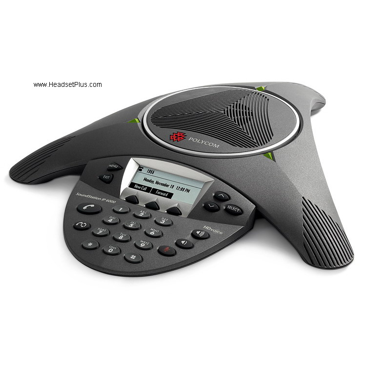 Polycom Soundstation IP 6000 Conference Phone (w/power supply)
