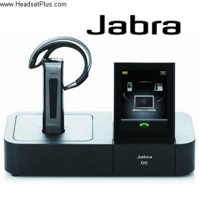 c3f325791bb JABRA Go 6470 Wireless Headset Jabra 6400 Series Headsets 6470-15 ...