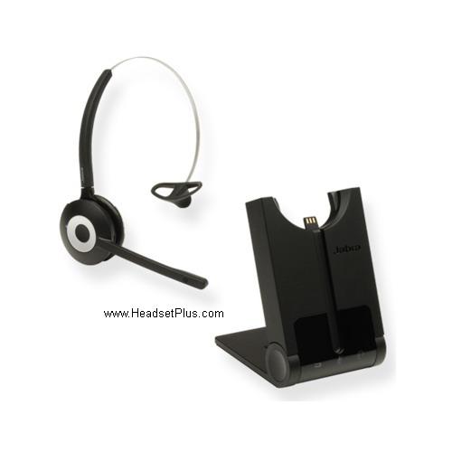 Jabra Pro 920 Ehs Wireless Bundle For Yealink Phones: JABRA Pro 920 Polycom IP Phone Wireless Headset EHS Remote
