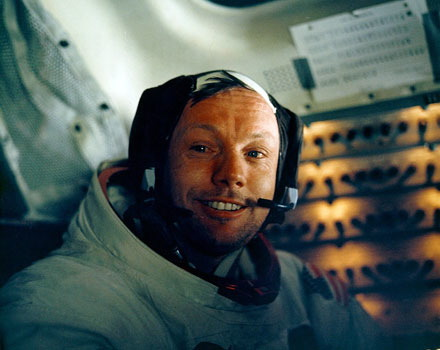 Neil Armstrong Plantronics Headset