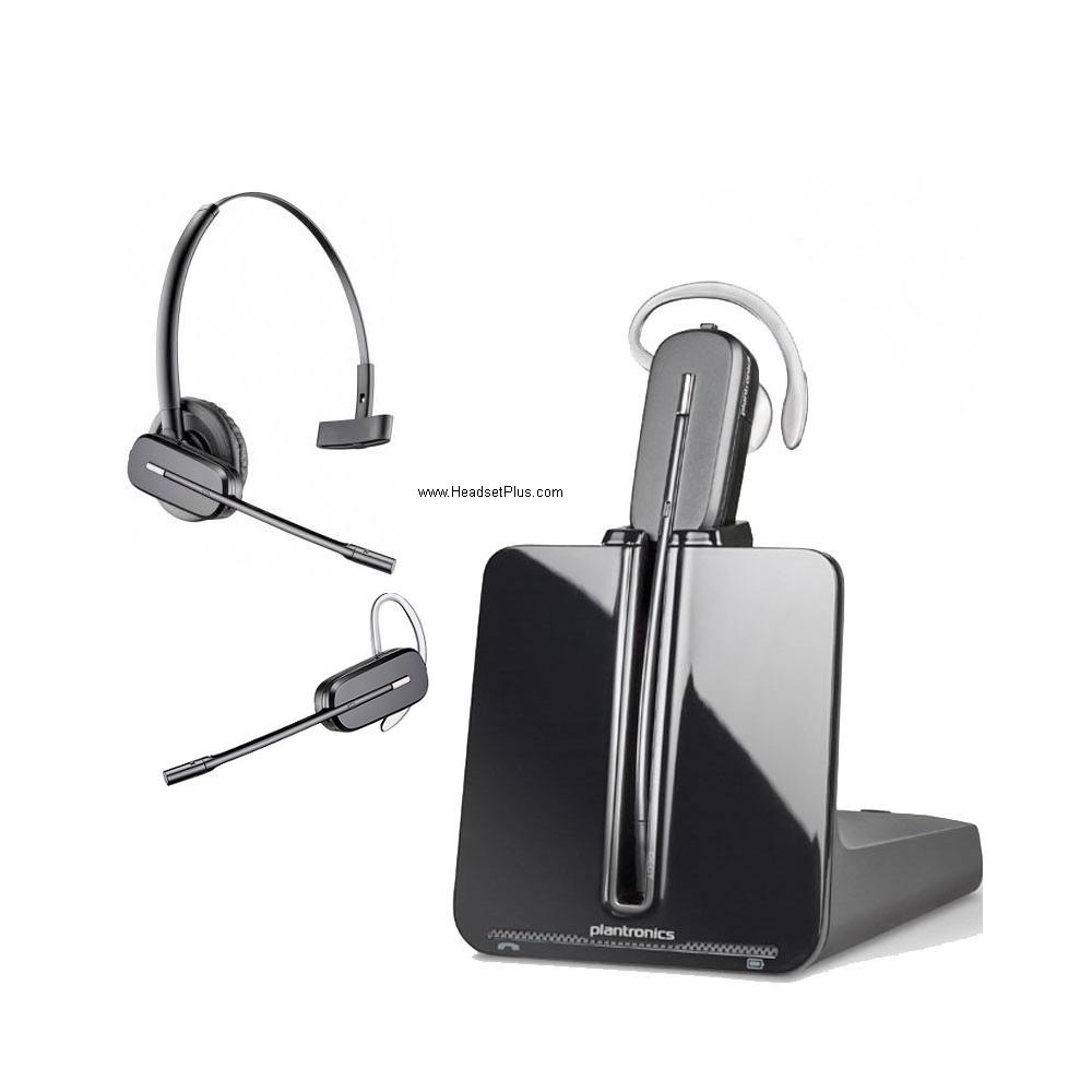 plantronics cs540 wireless headset c054 co54 84693 01 rh headsetplus com Plantronics Handset Lifter For plantronics hl10 handset lifter troubleshooting