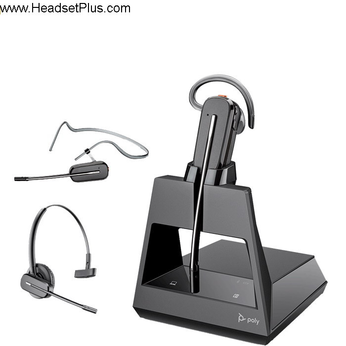 Poly Voyager 4245-M Office Convertible Bluetooth Headset MS Team