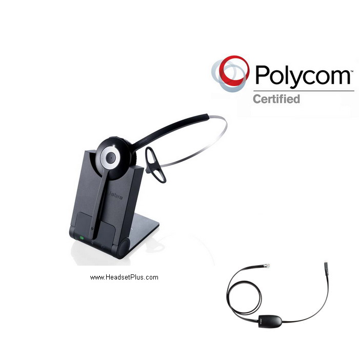Jabra Pro 920+EHS Polycom IP Phone VVX Wireless Bundle