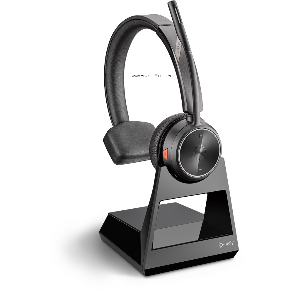 Poly (Plantronics) Savi 7210 Office Wireless Headset, Mono Style