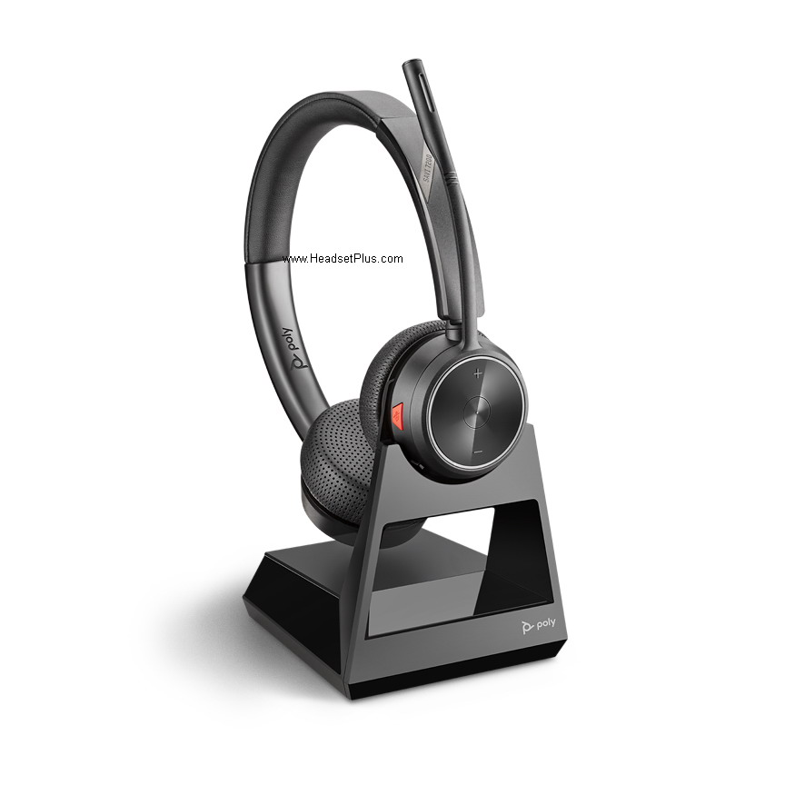 Poly (Plantronics) Savi 7220 Wireless Headset, Stereo Style