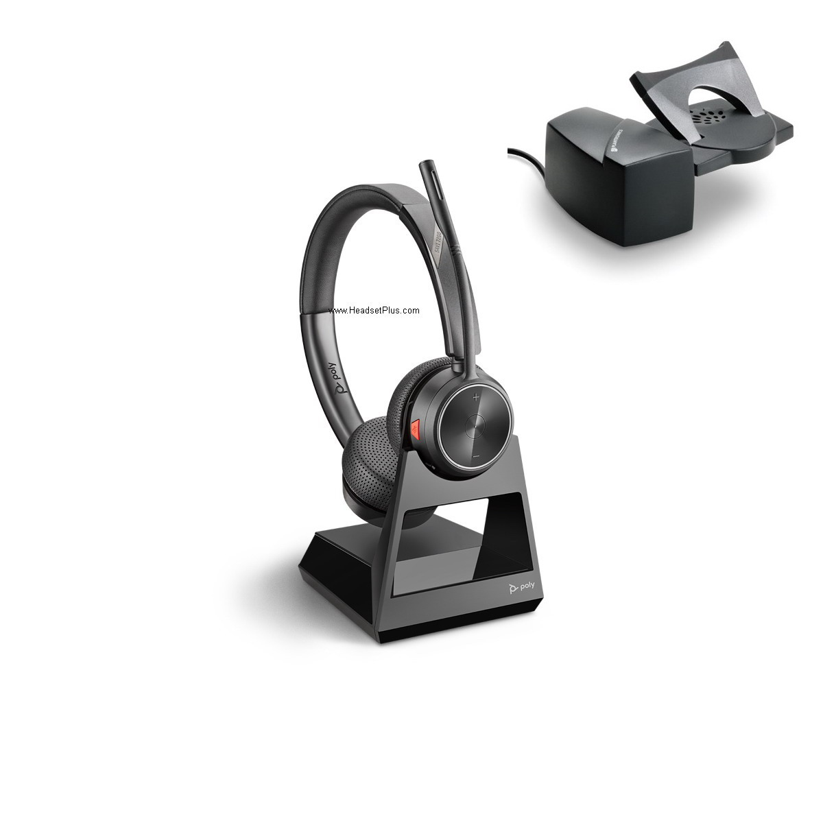 Poly Savi 7220+HL10 Wireless Headset Bundle Package