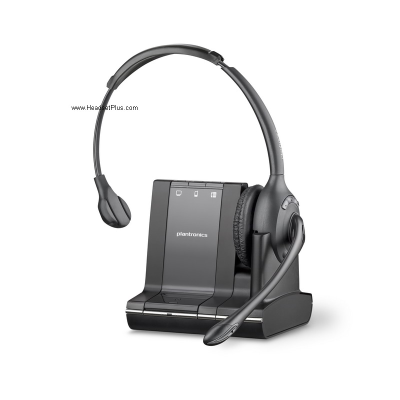 Plantronics Savi W710 Wireless Headset, Monaural Headset