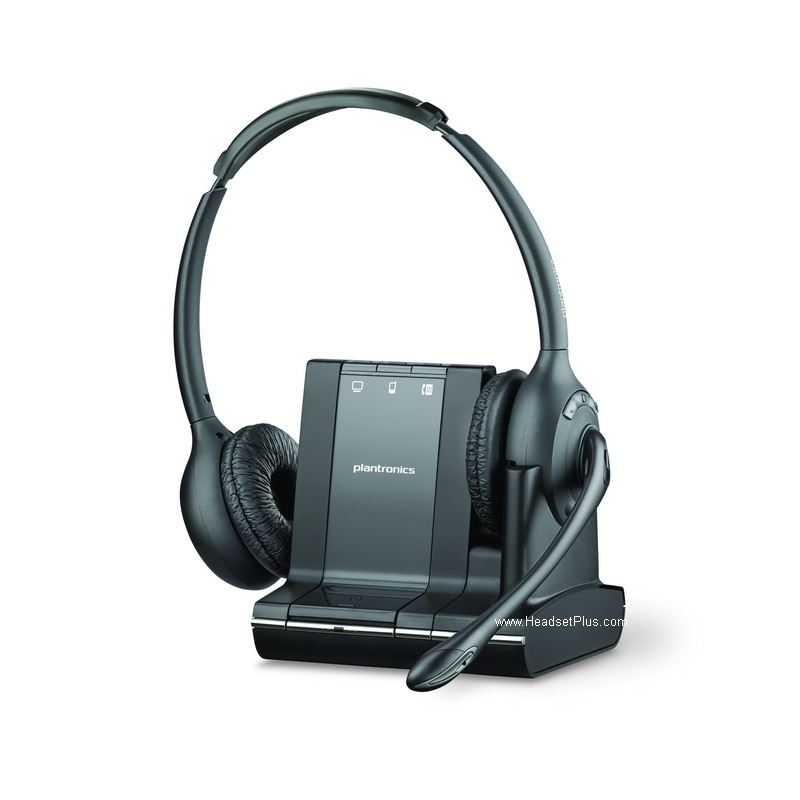 Plantronics Savi W720 Wireless Headset, Binaural *Discontinued*