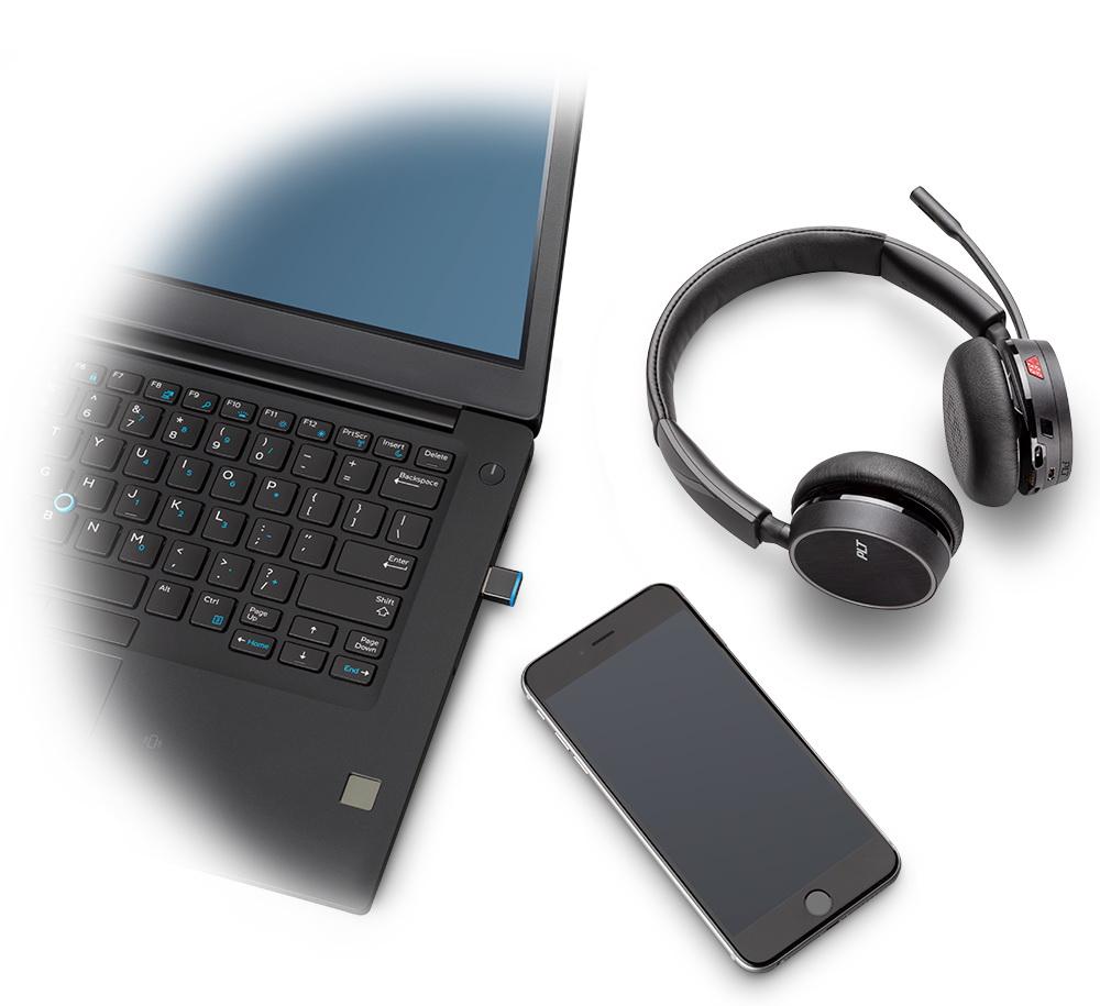 Plantronics Voyager 4220 USB-C Bluetooth Stereo Headset