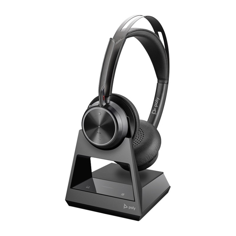 Poly Voyager Focus 2 Office USB-A Bluetooth Stereo Headset