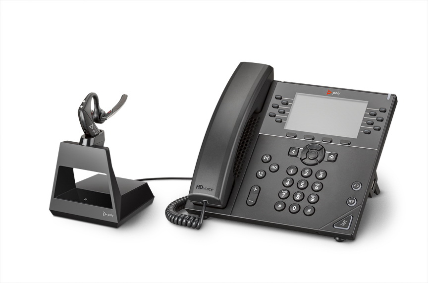 Plantronics Voyager 5200 Office Bluetooth Headset 1 Way Base