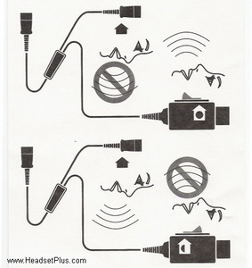 Plantronics y-training cord