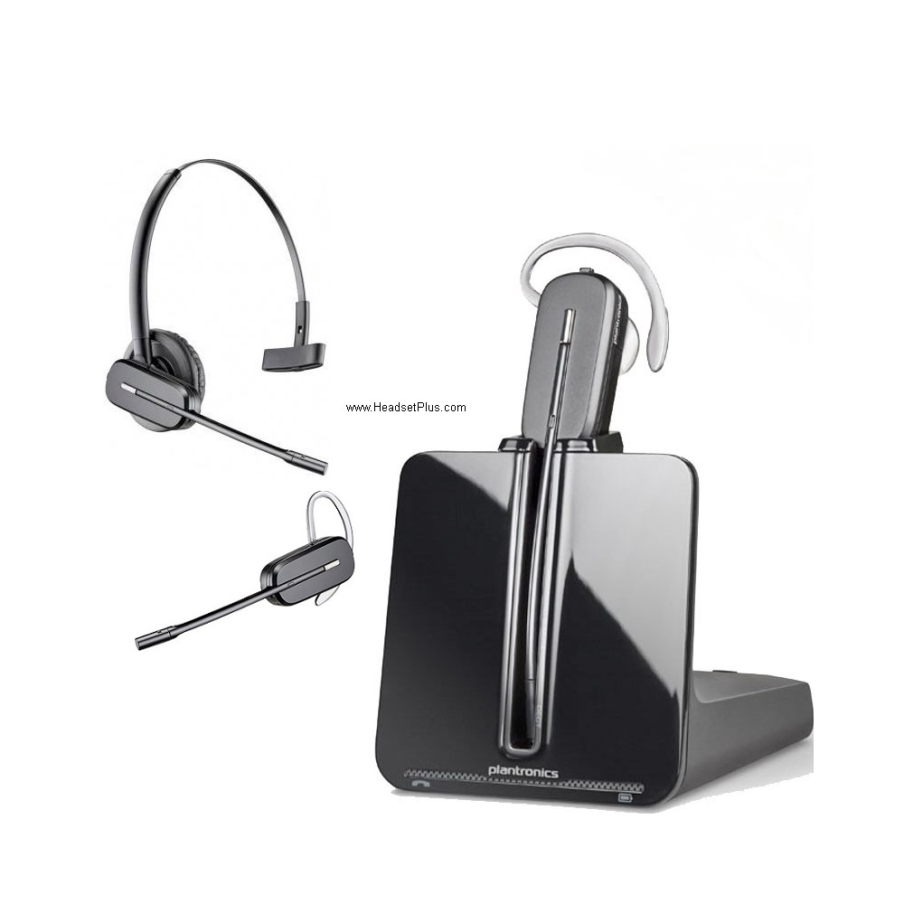 Plantronics CS540 Wireless Headset, Convertible (C054, CO54)